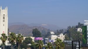 Los Ageles in Kalifornien, Blick vom Dolby Theater