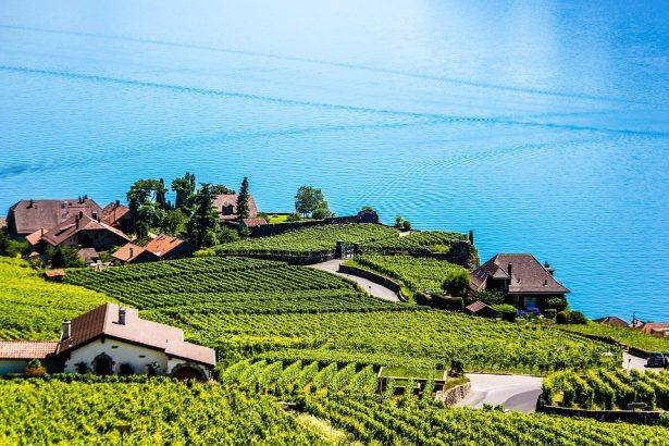Montreux am Genfer See, Schweiz