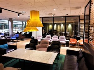 Lounge von Scandinavian Airlines